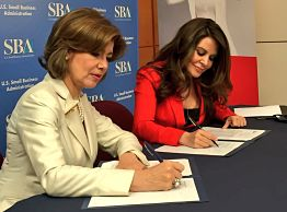 The Adelante Movement and U.S. SBA Partnership Signing June 13, 2016